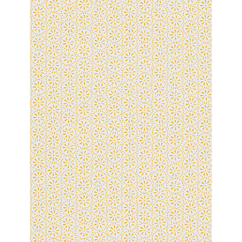 Emma Bridgewater Daisy Spot Wallpaper in Yellow, John Lewis, £49.00