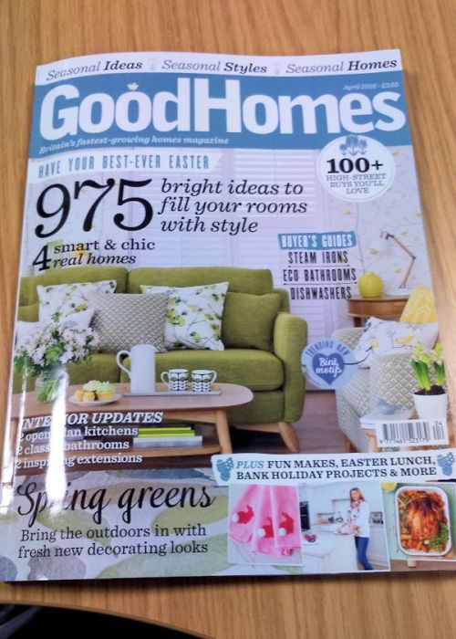 Good Homes April 2016 issue