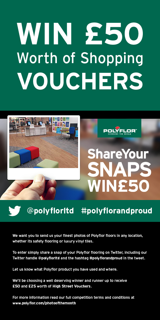 Polyflor Photo of the Month Twitter competition