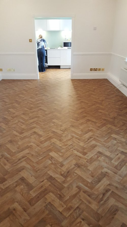 Mark Tulley Flooring, Designatex English Oak Parquet