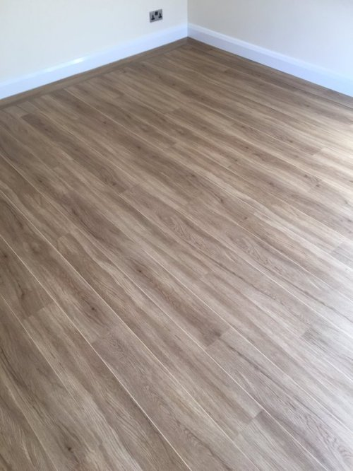 Balflooring, Colonia English Oak with Maple Marquetry Strip
