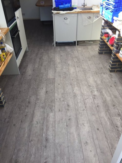 Ward Flooring, Camaro Smoke Brushed Elm