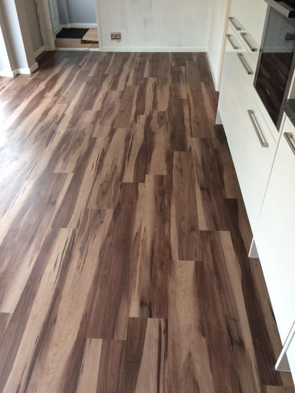 mf flooring - smoked walnut
