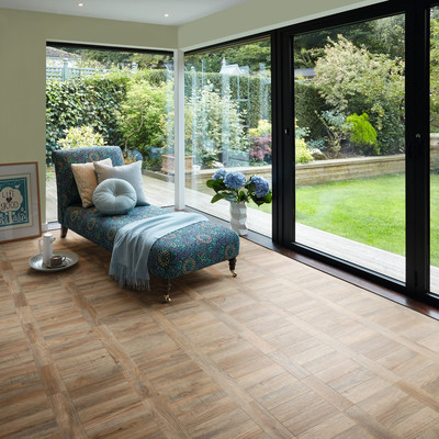 Cambridge Parquet 2251 laid in Tramline
