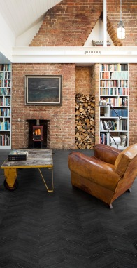 Camaro 2243 Midnight Ash bringths warm to your interior. Situated here by an open log fire, perfect for those dark nights